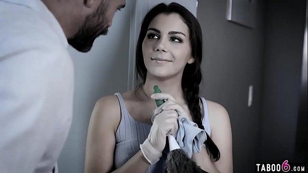 Italian maid Valentina Nappi fucked by wealthy client