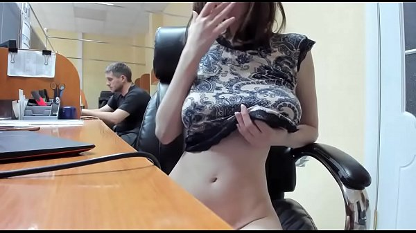 Blonde girl with big natural boobs getting fucked on cam / Watch them live at www.Cams-69.com