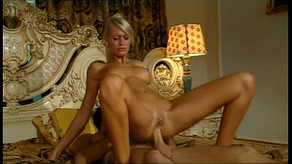 Sexy blonde receives the shag of her life