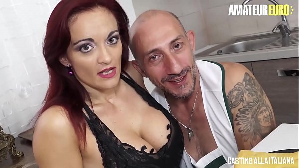 AMATEUR EURO – Italian MILF Mary Rider Feeds Her Horny Holes With Big Cock