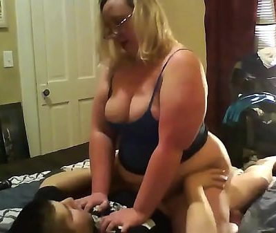 big tits bbw mom fucked by young guy I meet her at hooksex.com