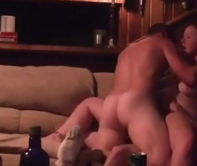 Fucked By 2 Guys In Her First Threesome