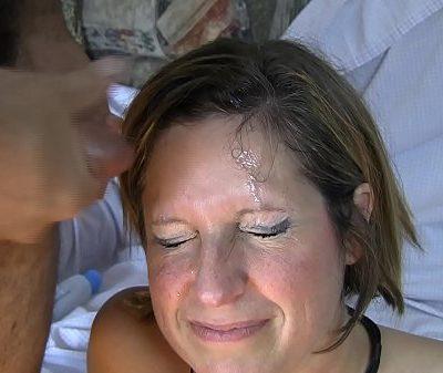 Ms Amy's gangbang facial