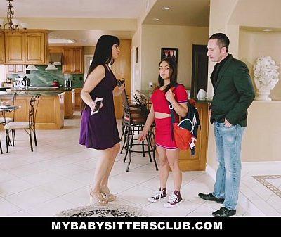 Myb.SittersClub – b. Sitter (Sara Luvv) Gets A Threesome On The Job