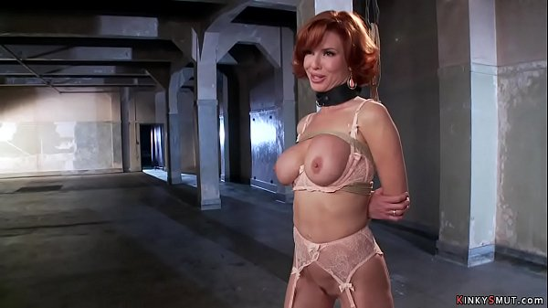 Nympho big tits MILF bdsm fucked